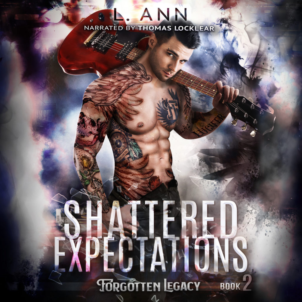 Image of Shattered Expectations Audiobook Cover
